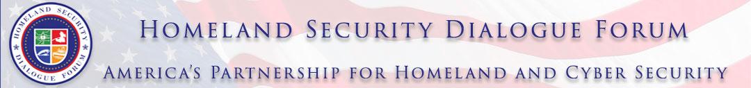 Homeland Security Dialogue Forum Logo