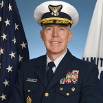 Rear Admiral Kevin Lunday, Assistant Commandant for C4IT and Commander Coast Guard Cyber Command, U.S. Coast Guard